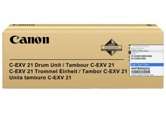 Фотобарабан Canon C-EXV21C для IRC2880/3380 голубой 53000 страниц tpc irc3380u laser toner powder for canon imagerunner c 3380 2880 irc 3380 2880 2880i 3380i 1kg bag color free shipping
