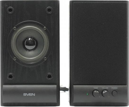 Колонки Sven SPS-607 2x3 Вт черный