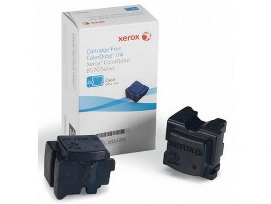 Фото - Набор твердочернильных брикетов Xerox 108R00936 для ColorQube 8570 2шт голубой 4400стр чернила xerox 108r00936