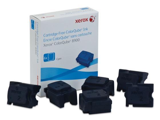 Фото - Набор твердочернильных брикетов Xerox 108R01022 для ColorQube 8900S 6шт голубой 16900стр набор стаканов luminarc октайм 6шт 300мл низкие стекло