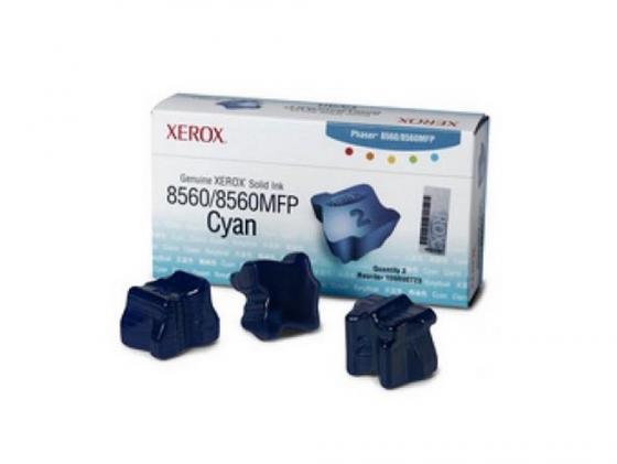 Фото - Набор твердочернильных брикетов Xerox 108R00764 для Phaser 8560 ColorStix ink sticks 3шт голубой 3000стр чернила xerox 108r00764 голубой