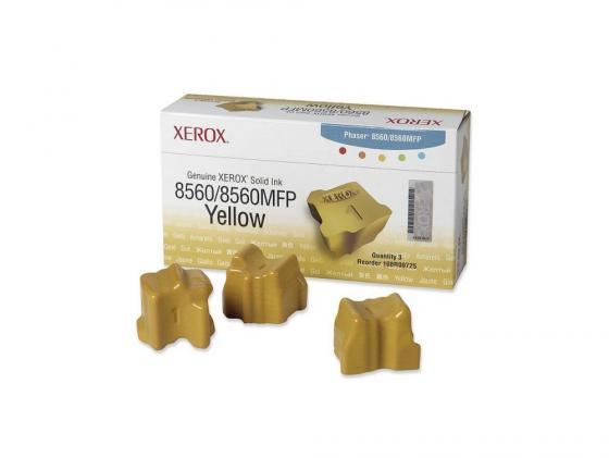 Набор твердочернильных брикетов Xerox 108R00766 для Phaser 8560 ColorStix ink sticks 3шт желтый 3000стр enlighten brick пиратский форт 309 206 элементов