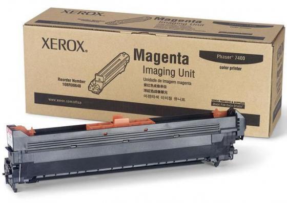 Фотобарабан Xerox 108R00648 для Phaser 7400 пурпурный 30000стр барабан xerox xerox 108r00648