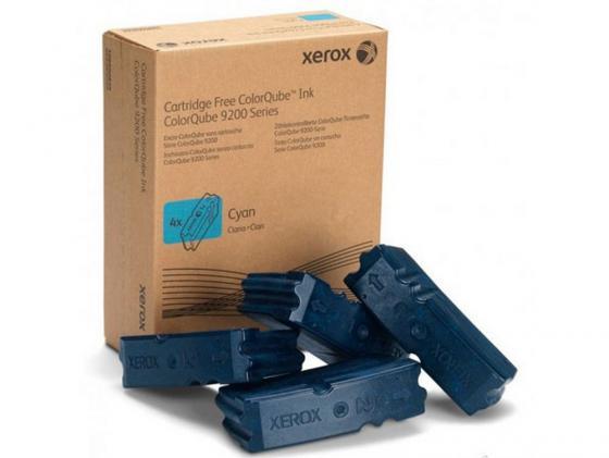 Набор твердочернильных брикетов Xerox 108R00837 для ColorQube 9201/02/03 / 9301/02/03 голубой 4шт по 9250стр цена