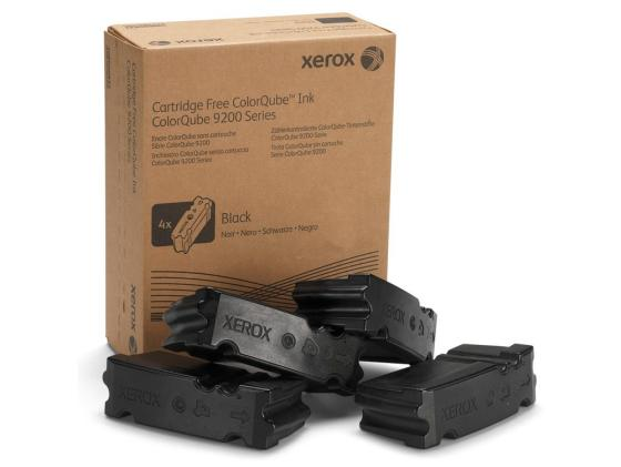 Набор твердочернильных брикетов Xerox 108R00840 для ColorQube 9201/02/03 / 9301/02/03 4шт Ink sticks черный