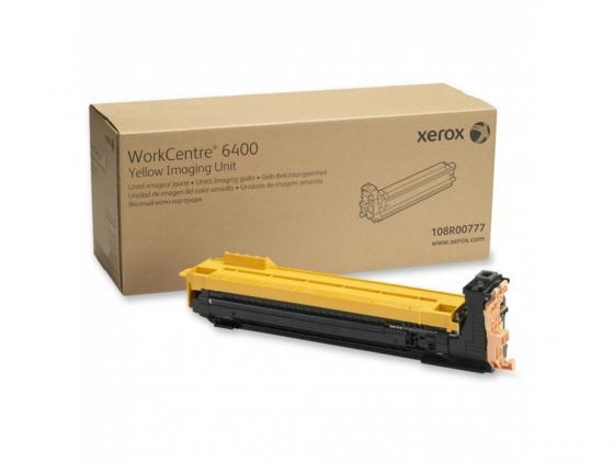 Фото - Картридж Xerox 108R00777 для Xerox WorkCentre 6400 30000стр Желтый фотобарабан xerox 108r00777 желтый для wc 6400 30000стр