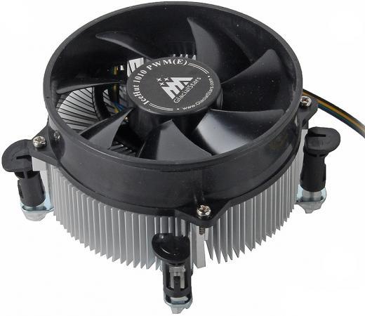 Кулер для процессора GlacialTech IceHut 1010 PWM(E) Socket 1156/1155 20 dBa oem кулер glacialtech icehut 1150pwm