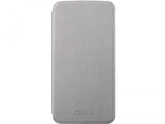 Чехол Gissar Metallic 58227 для Samsung Mega 5.8 серый внешний аккумулятор samsung eb pn930csrgru 10200mah серый