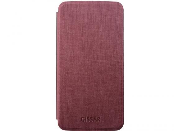 Чехол Gissar Metallic 58296 для Samsung  Mega 5.8 красный тональная основа by terry sheer expert 6 цвет 6 flush beige variant hex name f9b99c