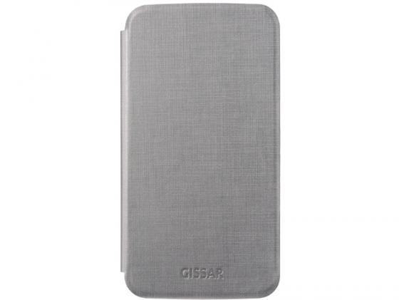 Чехол Gissar Metallic 58524 для Samsung Mega 6.3 серый цена