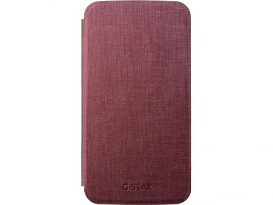 все цены на  Чехол Gissar Metallic 58593 для Samsung  Mega 6.3 красный  онлайн