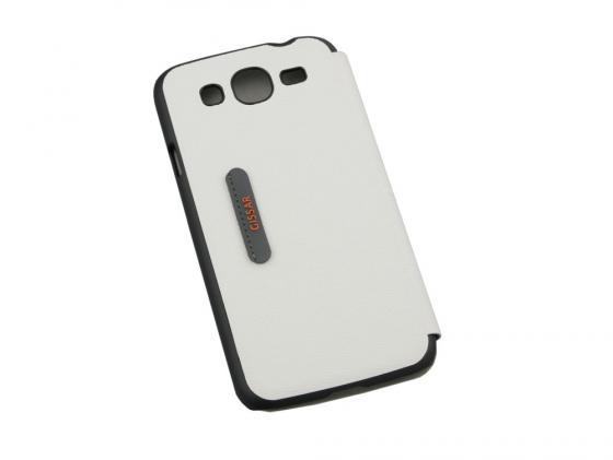 Чехол Gissar Rocky 58326 для Samsung Mega 5.8 белый цена