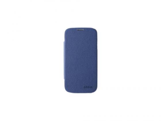 Чехол Gissar Rocky 58357 для Samsung Mega 5.8 синий цена