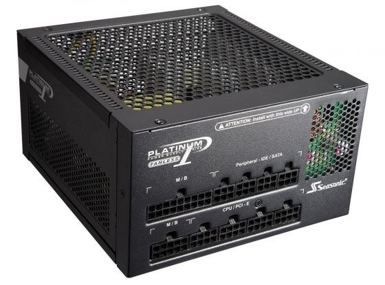 Блок питания ATX 400 Вт Seasonic Platinum-400 Fanless SS-400FL2 блок питания seasonic atx 400w ss 400fl2