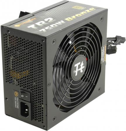 Блок питания ATX 750 Вт Thermaltake TR-750PCBEU бп atx 550 вт thermaltake tr2 bronze tr 550pcbeu