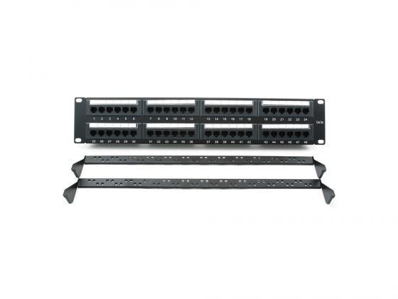 Патч панель Cablexpert NPP-C548CM-001 с задним организатором 48 портов категории 5E lfr1648 npp groove track roller bearings size 16 48 21 23 mm precision double row balls abec 5