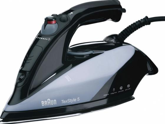 Утюг Braun TexStyle 545S 2000 Вт подача пара 30 г/мин пар.удар 130 г/мин утюг braun ts775tp texstyle 7