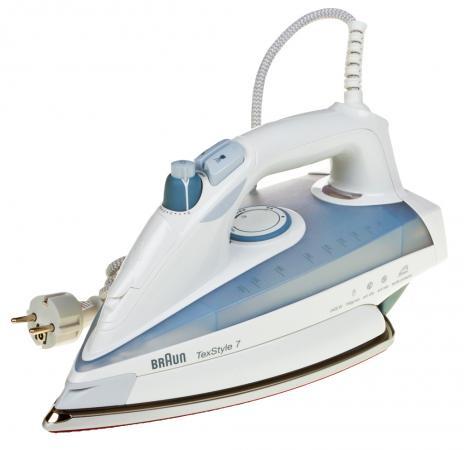 Купить Утюг Braun TexStyle 725A 2400Вт белый серый