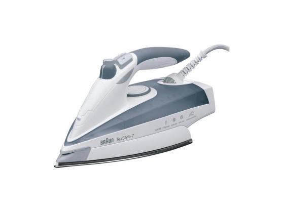 Утюг Braun TexStyle 775 2400Вт белый серый утюг браун 775