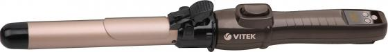 Щипцы для укладки волос Vitek VT-2381 CL коричневый щипцы для укладки vitek щипцы для укладки vitek vt 2381 cl