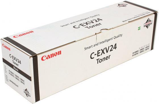цена на Тонер Canon C-EXV24Bk для IR5800C/5800CN/5870C/5870CI/5880C/5880CI/6800C/6800CN/6870C/6870CI/6880C/6880CI черный 48000 страниц