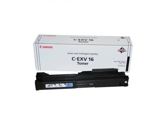Тонер Canon C-EXV16Bk для CLC4040/CLC5151 черный 30000 страниц