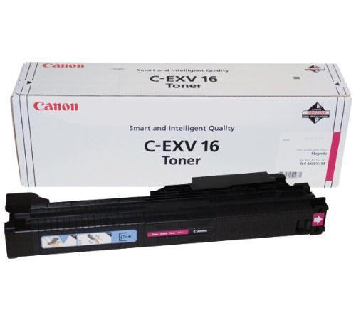Тонер Canon C-EXV16M для CLC4040/CLC5151 пурпурный 36000 страниц