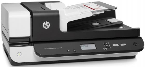 Сканер HP Scanjet Enterprise Flow 7500 A4 600dpi 50 стр/мин USB L2725B scanjet enterpraise flow