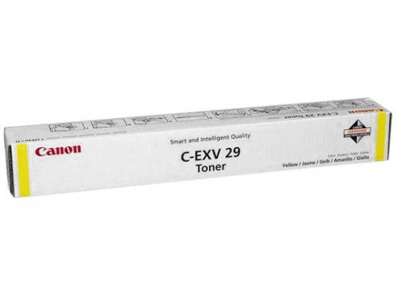 все цены на Тонер Canon C-EXV29Y для IRC5030/iRC5035/iRC5045/iRC5051 желтый 27000 страниц