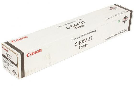 Тонер Canon C-EXV31Bk для IRC7055/C7065 черный 80000 страниц стоимость