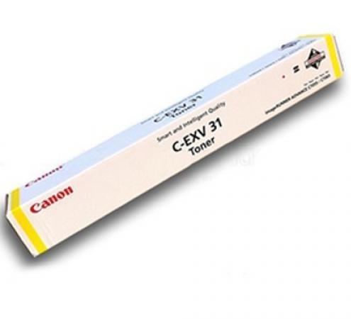 Тонер Canon C-EXV31Y для IRC7055/C7065 желтый 52000 страниц