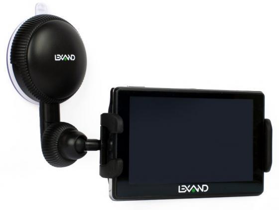 Автомобильный держатель LEXAND LМ-701 для GPS/КПК/смартфонов/MP3/MP4 плеера ширина 10.5-14.5см 360° автомобильный видеорегистратор lexand lr15