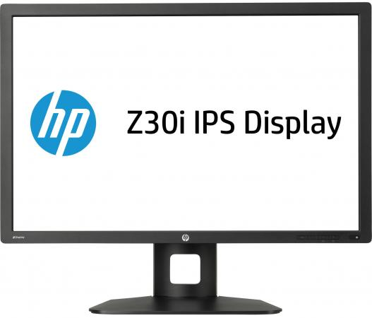Монитор 30 HP Z30i черный IPS 2560х1600 350 cd/m^2 8 ms DVI HDMI VGA Аудио USB DisplayPort D7P94A4 монитор 30 nec pa302w bk sv2 ah ips led 2560x1600 7ms dvi hdmi displayport