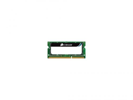 Оперативная память для ноутбука 4Gb (1x4Gb) PC3-10600 1333MHz DDR3 SO-DIMM CL9 Corsair CL9 CMSO4GX3M1C1333C9 corsair ddr3 sodimm 4gb pc 10600 cmso4gx3m1a1333c9