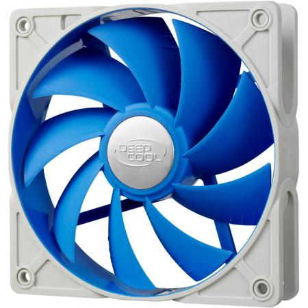 Вентилятор Deepcool UF120 120x120x25 4pin 18-29dB 500-1500rpm 172g anti-vibration DP-FUF-UF120 вентилятор deepcool uf120