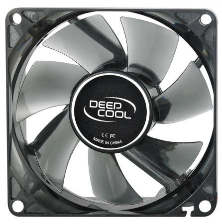 Вентилятор Deepcool WIND BLADE 80 80x80x25 3pin 20dB 1800rpm 60g голубой LED DP-FLED-WB80 вентилятор deepcool wind blade 80 80x80x25 3pin 20db 1800rpm 60g голубой led dp fled wb80