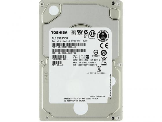 Жесткий диск 2.5 SAS 10500rpm 300Gb 64Mb Toshiba AL13SEB300 300gb 10k rpm sas 2 5 inch hard drive u706k