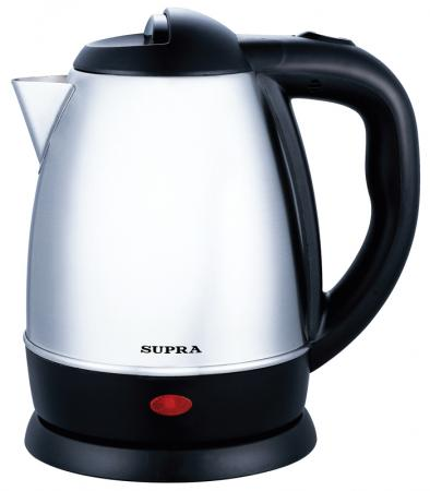 Чайник Supra KES-1231 1500 Вт 1.2 л металл серебристый термопот supra tps 3016 730 вт 4 2 л металл серебристый