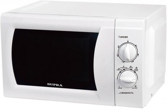 Микроволновая печь Supra MWS-1808MW 18 л белый свч supra mws 1808mw 18 л белый