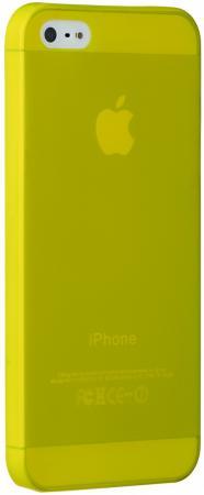 Чехол (клип-кейс) Ozaki O!coat 0.3 Jell для iPhone 5 iPhone 5S iPhone SE желтый OC533YL цены