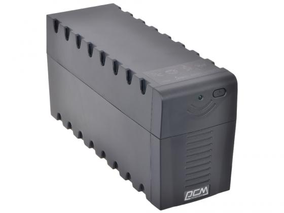 ИБП Powercom RPT-1000A Raptor 1000VA/600W AVR 2+1 EURO ибп powercom rpt 1000a raptor 3 euro