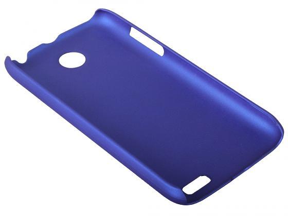Чехол IT BAGGAGE для Lenovo A516 жесткий пластик синий ITLNA516T-4