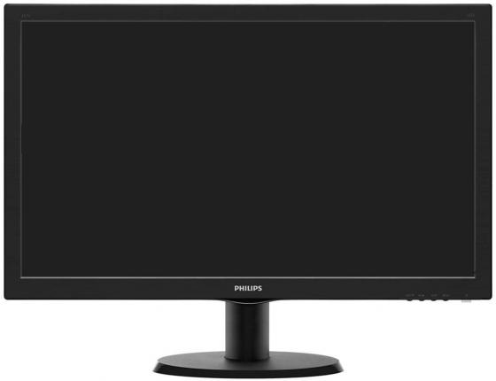 Монитор 24 Philips 243V5LSB/10/62 черный TFT-TN 1920x1080 250 cd/m^2 5 ms VGA монитор philips 243v5lsb 10 62