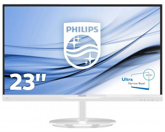 Монитор 23 Philips 234E5QHAW/0001 белый AH-IPS 1920x1080 250 cd/m^2 5 ms HDMI VGA Аудио аккумулятор patriot 12v 1 5 ah bb gsr ni