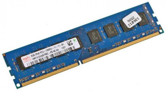 Оперативная память 8Gb PC3-12800 1600MHz DDR3 DIMM Hynix оперативная память hynix hmt451u6dfr8a pbn0