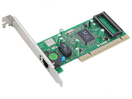 Сетевой адаптер D-LINK DGE-530T 10/100/1000 Мбит/с цена