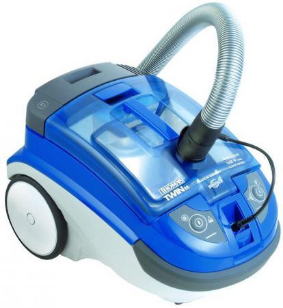 Пылесос Thomas Twin TT Aquafilter (788535) без мешка сухая и влажная уборка 1600/240Вт голубой thomas twin tt где запчасти