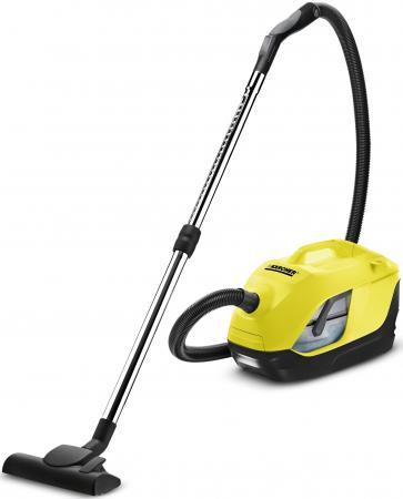Пылесос Karcher DS 5.800 без мешка сухая уборка 900Вт желтый 1.195-210.0 цена и фото