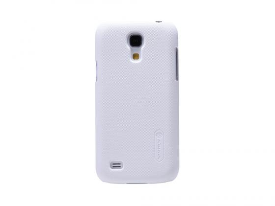 Накладка Nillkin Super Frosted Shield для Samsung Galaxy S4 белый T-N-SGS4-002 цена и фото