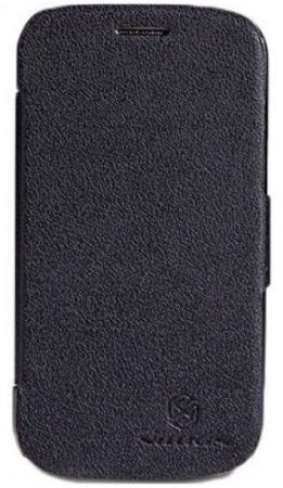 Чехол Nillkin Fresh series для Samsung Galaxy S4 черный T-N-SGS4-001 нейлон nillkin samsung s8plus tpu прозрачный мягкий чехол чехол телефонный чехол белый